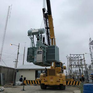 montaje e instalacion transformador